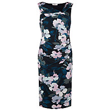 Buy Kaliko Floral Wrap Jersey Dress, Multi Green Online at johnlewis.com