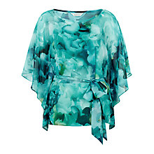 Buy Kaliko Printed Blouse, Caribbean Green Online at johnlewis.com