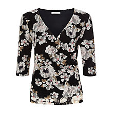 Buy Kaliko Floral Lace Top, Multi Online at johnlewis.com