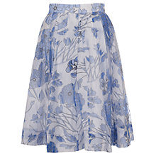 Buy French Connection Water Skirt, Summer White Multi Online at johnlewis.com