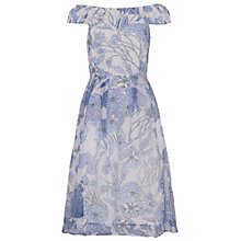 Buy French Connection Water Dress, Summer White Multi Online at johnlewis.com