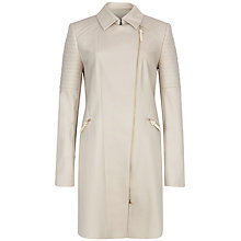 Buy Ted Baker Faluk Quilted Sleeve Trench Coat, Taupe Online at johnlewis.com