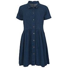 Buy French Connection Denim Flared Dress, Bleach Vintage Online at johnlewis.com