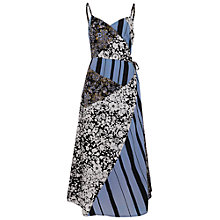Buy French Connection Freida Dress, Utility Blue Multi Online at johnlewis.com