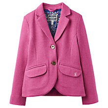 Buy Little Joule Girls' Tweed Jacket, Ruby Online at johnlewis.com