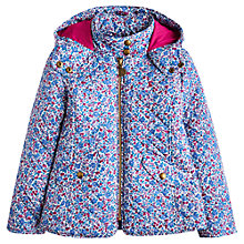 Buy Little Joule Girls' Ditsy Print Quilted Jacket, Multi Online at johnlewis.com