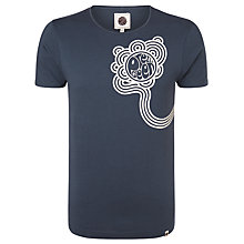 Buy Pretty Green Afterglow Print T-Shirt Online at johnlewis.com