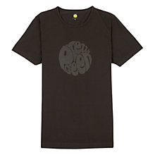 Buy Pretty Green Logo Print T-Shirt, Black Online at johnlewis.com