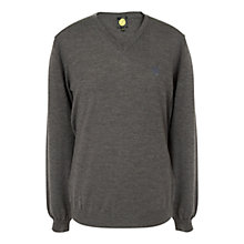 Buy Pretty Green Hanover V-Neck Merino Jumper Online at johnlewis.com