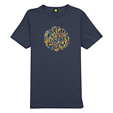 Buy Pretty Green Paisley Logo T-Shirt Online at johnlewis.com