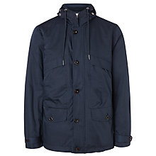 Buy Pretty Green Abbycroft Jacket, Navy Online at johnlewis.com
