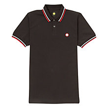 Buy Pretty Green Tipped Pique Polo Shirt Online at johnlewis.com