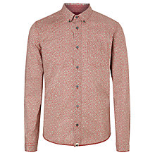 Buy Pretty Green Floral Dot Shirt, Red Online at johnlewis.com