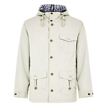Buy HYMN Alfred Anorak, Stone Online at johnlewis.com