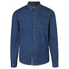 Buy Pretty Green Hadley Floral Shirt, Navy Online at johnlewis.com