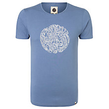 Buy Pretty Green Linear Paisley Logo T-Shirt Online at johnlewis.com