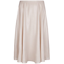 Buy Ted Baker Pleat Metallic Midi Skirt, Shell Online at johnlewis.com
