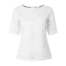 Buy White Stuff Hettie Top, Jasmin White Online at johnlewis.com