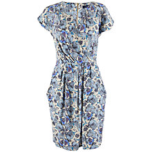 Buy Closet Floral Cross Over Dress, Multi Online at johnlewis.com