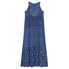 Buy East Maxi Dress, Indigo Online at johnlewis.com