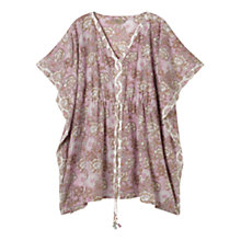 Buy East Gracie Print Kaftan, Smoke Online at johnlewis.com