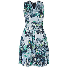 Buy Closet Floral Lace Back Cotton Dress, Multi Online at johnlewis.com