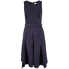 Buy Closet Vent Detail Midi Dress, Navy Online at johnlewis.com