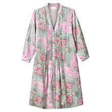 Buy East Kashmir Pintuck Dress, Flamingo Online at johnlewis.com