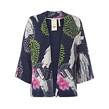 Buy White Stuff Statement Jacket, Navy Online at johnlewis.com