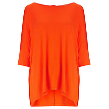 Buy Somerset by Alice Temperley Oversized Top, Fire Orange Online at johnlewis.com