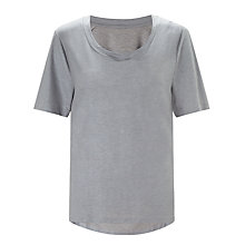 Buy Kin by John Lewis Coated Seam Detail T-Shirt Online at johnlewis.com
