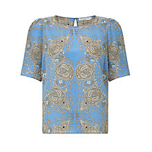 Buy John Lewis Capsule Collection Paisley Print Top, Paisley Print Online at johnlewis.com