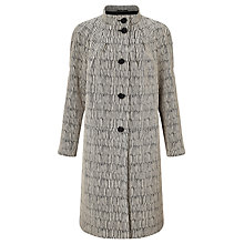 Buy Bruce by Bruce Oldfield Frock Coat, Black/Silver Online at johnlewis.com