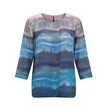 Buy John Lewis Capsule Collection Daisy Ombre Tunic Top, Blue Multi Online at johnlewis.com