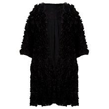 Buy Somerset by Alice Temperley Rose Appliqué Jacket, Black Online at johnlewis.com