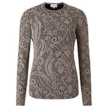 Buy Somerset by Alice Temperley Textured Bodycon Top, Natural Online at johnlewis.com