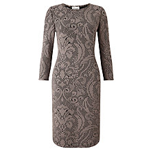 Buy Somerset by Alice Temperley Textured Bodycon Dress, Natural Online at johnlewis.com