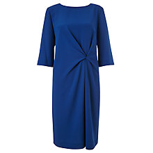 Buy John Lewis Capsule Collection Anna Drape Dress, Blue Online at johnlewis.com
