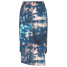 Buy Kin by John Lewis Night Sky Print Wrap Skirt, Blue Online at johnlewis.com