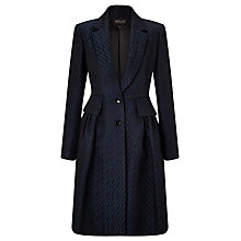 Buy Bruce by Bruce Oldfield Jacquard Jacket, Navy/Black Online at johnlewis.com
