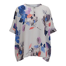 Buy John Lewis Capsule Collection Lola Blouse, Grey Online at johnlewis.com