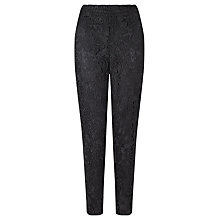 Buy Bruce by Bruce Oldfield Slim Lace Trousers, Black Online at johnlewis.com