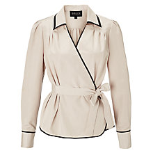 Buy Bruce by Bruce Oldfield Contrast Trim Blouse Online at johnlewis.com