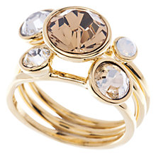 Buy Ted Baker Jackie Jewel Stack Ring Online at johnlewis.com