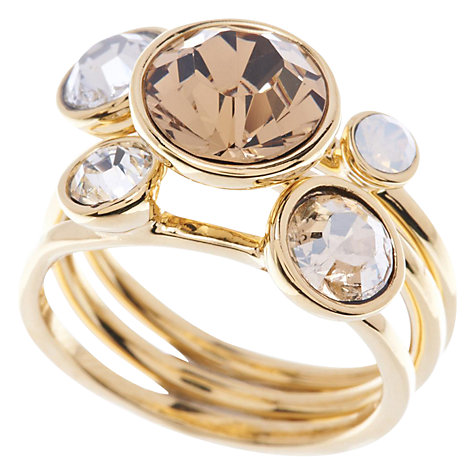 ted baker rose gold stack rings