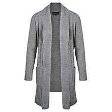 Buy Viyella Pure Merino Cardigan, Grey Marl Online at johnlewis.com