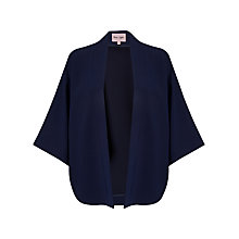 Buy Phase Eight Kimono Jacket, Navy Online at johnlewis.com