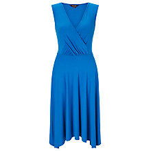 Buy Phase Eight Helen Hanky Hem Dress, Azure Online at johnlewis.com