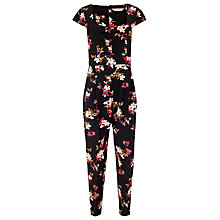 Buy Phase Eight Catalina Jumpsuit, Black/Multi Online at johnlewis.com