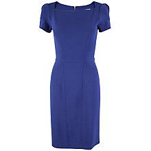 Buy Closet Asymmetric Neck Pencil Dress, Starry Night Online at johnlewis.com